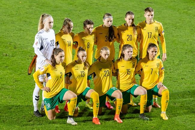 Lietuvos moterų rinktinei – aukščiausio lygio išbandymas