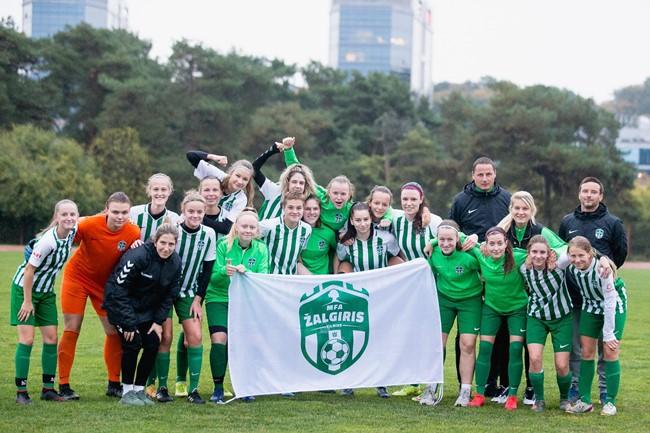 """MFA """"Žalgirio"""" B-MRU komandos sezonas: 14 rungtynių – 14 pergalių"""
