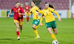 Paskelbta nacionalinės moterų rinktinės sudėtis rungtynėms Kroatijoje