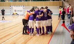 Čempionai ir vicečempionai naująjį Optibet Futsal A lygos sezoną pradėjo sunkiomis pergalėmis