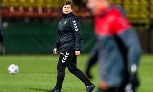 """Anksti trenerės keliu pasukusi T. Veržbickaja: """"Nuo pradžių patiko tai, ką darau, todėl futbole esu iki šiol"""""""