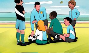 Vaikų saugumo futbole užtikrinimas – tarp LFF prioritetų