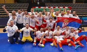 Serbija iškovojo paskutinį Europos kelialapį į FIFA Pasaulio salės futbolo čempionatą