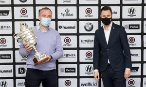 Įteikti apdovanojimai geriausios LMFA I lygos komandoms ir žaidėjoms