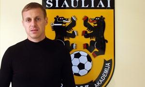 """Daugkartinis Lietuvos čempionas A. Jankauskas papildė FA """"Šiauliai"""" gretas"""