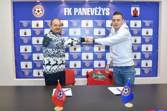 """E. Jankauskas persikėlė į """"Panevėžį"""""""