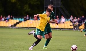 """Lietuvos jaunimo U-19 čempionate pirmauja """"NFA Be1"""" ir panevėžiečiai"""