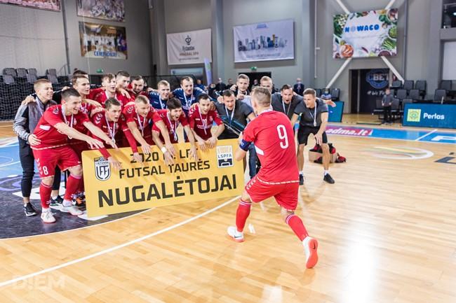 """LFF futsal taurės burtai: VIP iššūkis čempionams ir varžovų tebelaukiantys """"Turbotransfers"""""""