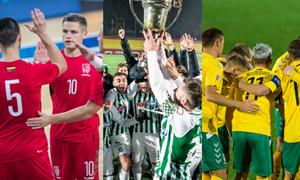 10 svarbiausių Lietuvos futbolo įvykių 2021 metais
