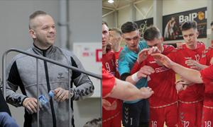 """""""Kauno Žalgirio"""" futsal komandos vadovas – apie dramą finale, žygį Europoje ir svarbius pokyčius organizacijoje"""