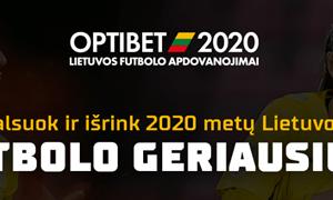 Išrinkite geriausius: startavo Optibet Lietuvos futbolo apdovanojimų pirmasis etapas