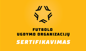 """Prie futbolo ugdymo organizacijų sertifikavimo projekto prisijungė """"Geležinis vilkas"""""""