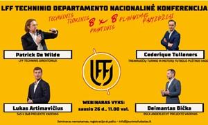LFF atvirųjų seminarų treneriams tęsinys – sausio 26 dieną