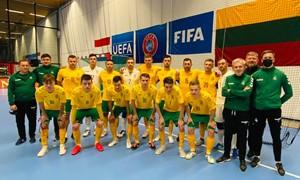 Lietuvos salės futbolo rinktinė nusileido Nyderlandams
