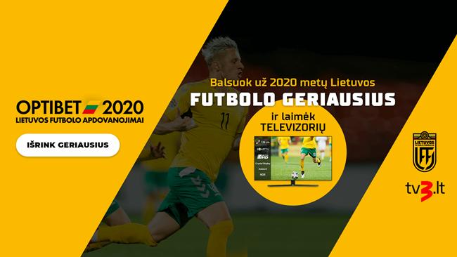 Specialus konkursas: rinkite Lietuvos metų geriausius ir laimėkite televizorių