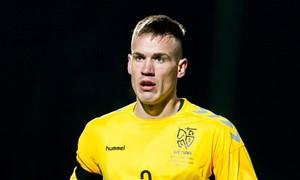 Lietuvos rinktinės gynėjas V. Gašpuitis keliasi rungtyniauti į Škotiją