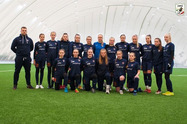 """Moterų A lyga 2021: auganti ir tobulėjanti """"Banga"""""""