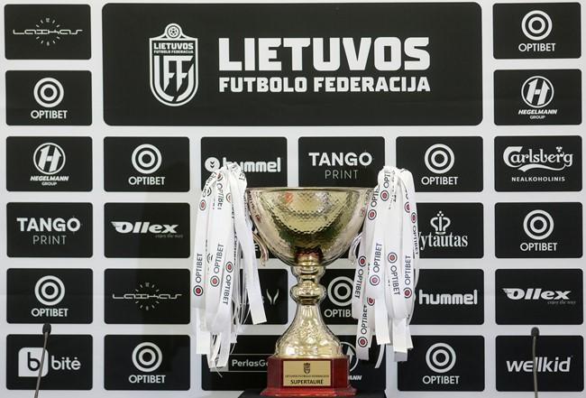 """Dėl COVID-19 atvejų """"Žalgirio"""" ir """"Panevėžio"""" komandose nukeliamas mačas dėl Optibet LFF supertaurės"""