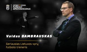 Geriausias Lietuvos metų vyrų treneris – etapą Bulgarijoje pradėjęs V. Dambrauskas