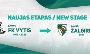 "Salės futbolo komanda ""FK Vytis"" oficialiai tapo ""Žalgiriu"""