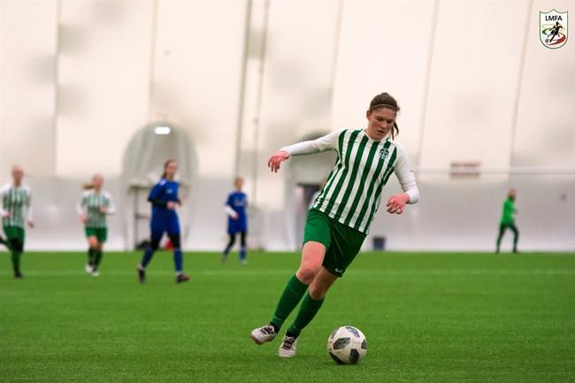 Vilniaus žalgirietės kovos LMFA Žiemos taurės turnyro finale