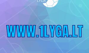 Keičiasi LFF Pirmos lygos internetinio puslapio adresas