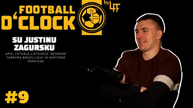 Justinas Zagurskas – apie futsalą Lietuvoje, Neymaro turnyrą Brazilijoje ir kapitono pareigas