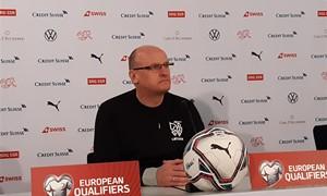 """V. Urbonas prieš mūšį su Šveicarija: """"Turime išlaikyti koncentraciją visų rungtynių metu"""""""