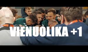 """""""VIENUOLIKA + 1"""": Trečiame epizode – rungtynių su Italija užkulisiai"""