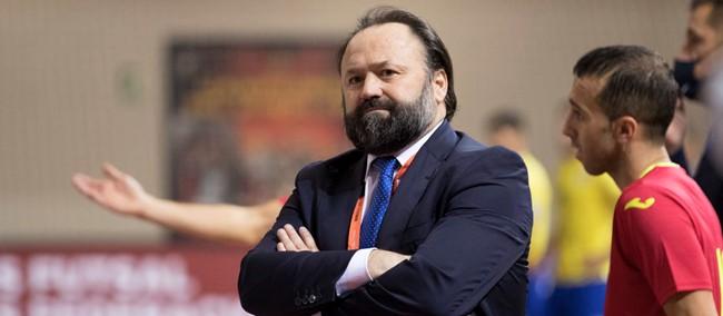 """Ispanijos Futsal rinktinė treneris F. Vidalis: """"Mūsų tikslas – žaisti pasaulio čempionato finale ir jį laimėti"""""""