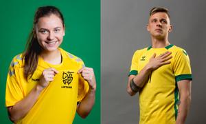Dviems Lietuvos futbolininkams – įvertinimas #100sportožvaigždžių projekto rinkimuose