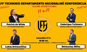 Balandžio 27 dieną – LFF atvirasis seminaras apie žaidimo organizavimą