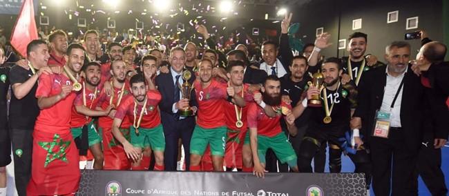 Kelionei į Lietuvą besiruošianti Maroko rinktinė – naujas ir Egiptą nukarūnavęs Afrikos salės futbolo flagmanas