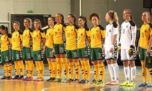 Paskelbtas moterų salės futbolo rinktinės išplėstinis sąrašas