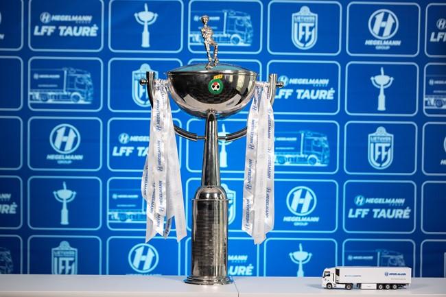 Hegelmann LFF taurė: kovoje dėl trofėjaus liko keturi pretendentai