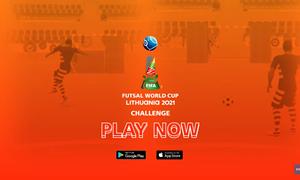 """Išleistas žaidimas mobiliesiems įrenginiams """"FIFA Futsal WC 2021 Challenge"""""""