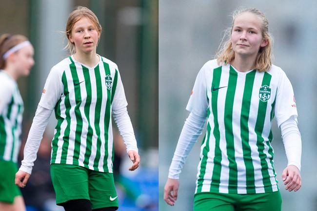 Dviejų jaunų futbolininkių žingsnis pirmyn: iš U-17 rinktinės – į A lygą