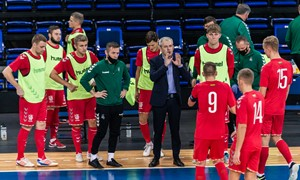 Pokyčiai Lietuvos salės futbolo rinktinės trenerių štabe