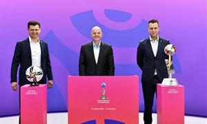Šveicarijoje viešintys LFF vadovai susitiko su FIFA prezidentu