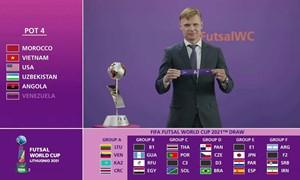 Lietuvos salės futbolo rinktinė sužinojo savo varžovus FIFA pasaulio salės futbolo čempionate