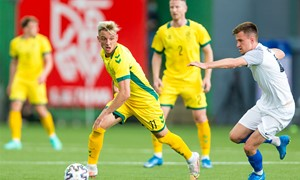 Baltijos taurės turnyro starte patirtas pralaimėjimas estams