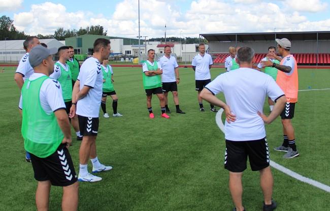Atnaujinamas UEFA A licencijos trenerių mokymų procesas