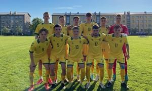 Vaikinų U-19 rinktinė laimėjo pirmąją akistatą prieš estus