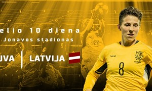 Ketvirtadienį startuos moterų Baltijos taurės turnyras