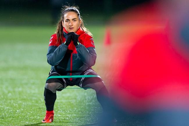 Moterų rinktinės narė P. Sarkanaitė – apie karjeros pradžią ir norus Baltijos taurėje