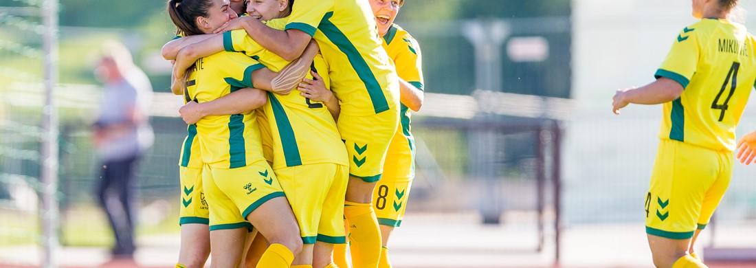 Lietuvės nugalėjo latves ir kovos Baltijos taurės finale