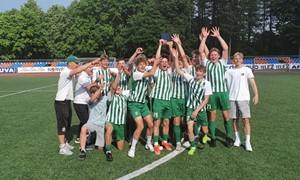 """FK """"Žalgirio"""" U-17 komanda pirmoji užsitikrino EJL čempionų titulą"""