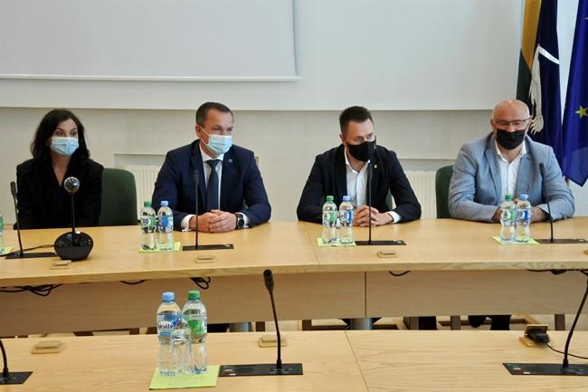 Visagino futbolo plėtra patikėta Vilniaus Baltijos futbolo akademijai