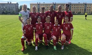 Baltijos taurės turnyre patirtas pralaimėjimas estėms