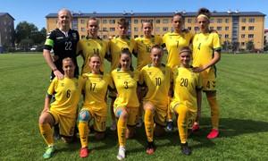 Merginų U-19 rinktinė sužaidė lygiosiomis su Latvija